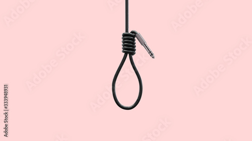 Fotografija Noose with cable and jack