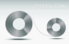 Rolled Steel Coil Straps, Stee...