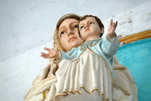 Virgin Mary With Baby Jesus, S...