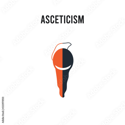 Photo asceticism vector icon on white background