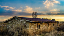 Stone Farm Style Homestead In ...