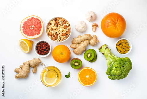 Fotomural Food for good immunity