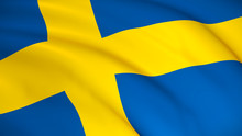 The National Flag Of Sweden (S...