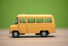 Yellow Toy Bus