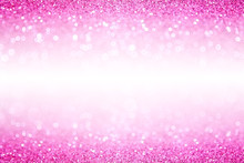 Fancy Hot Pink Glitter Sparkle Girly Background