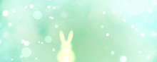 Abstract Easter Background Ban...