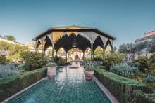 Le Jardin Secret Garden, Marrakech, Morocco Old Madina, Marrakech, Morocco.