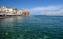 View Of The Port Of Chania And...