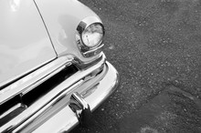 Classic  American Car Parked O...