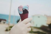 Eating Icecream In Summer 2020