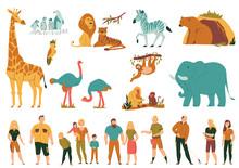 Zoo Flat Set