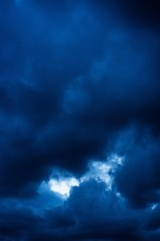 Vertical Picture Of Dark Cloud...