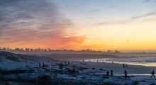 Dusk In The Beach At Asilomar ...