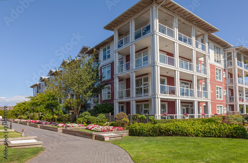 Fotomural Retirement community in Richmond BC Canada.