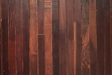 Timber Brown Wood Plank Wall, ...