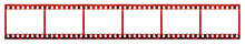 Film Strip With Copy Space Bla...