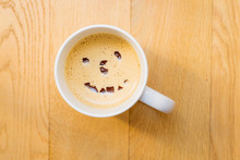 Cup Of Coffee With A Smile On ...