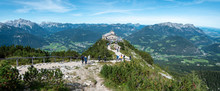 View From The Kehlsteinhaus Towards The Alps, Obersalzberg, Berchtesgarden, Germany