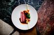 canvas print picture - finedining restaurant