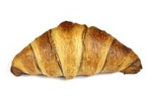 Croissant Français Sur Un Fon...