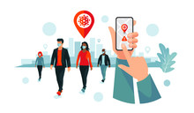 Smartphone Health Virus Tracki...
