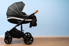 Baby Stroller Indoor. Empty Pl...
