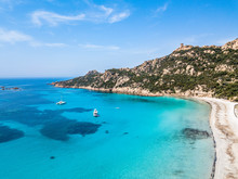 Photo Aérienne Plage De Roccapina Corse Du Sud
