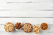 Various Kinds Of Nuts (almonds...