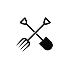 Shovel And Fork Icon