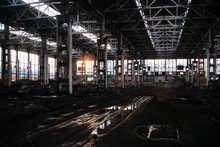 Large Abandoned Industrial Bui...