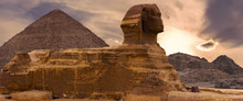 Sphinx Against The Backdrop Of...
