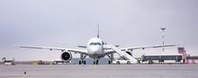 Airport Land Crew Doing Flight...