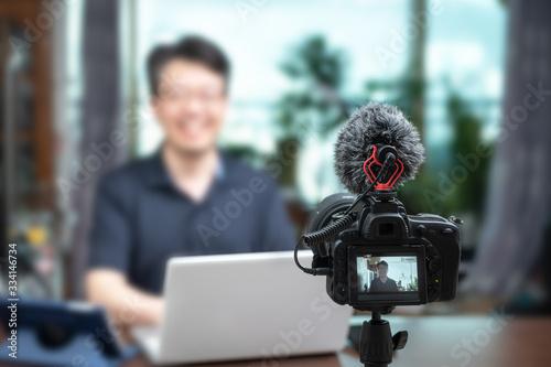 Fototapeta Online lecture concept