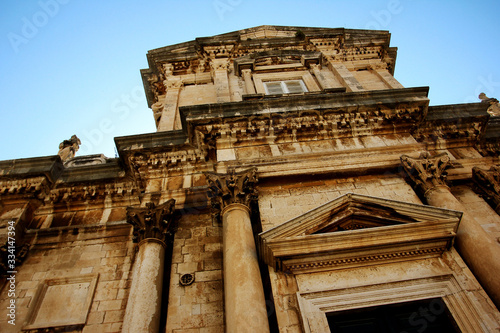 Photo The Assumption Cathedral of the Virgin Mary in Dubrovnik, Croatia