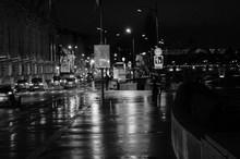 Pluie à Paris NB