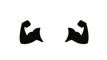 Fitness Logo Flat Design