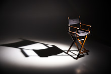 Directors Chair Stands In The ...