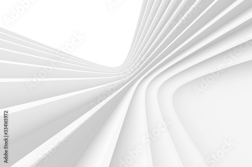 Obraz Abstract Monochrome Background. Minimal Futuristic Design. - fototapety do salonu