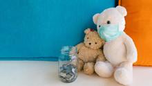 Teddy Bear With Surgical Face ...