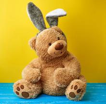 Big Cute Brown Teddy Bear Wear...