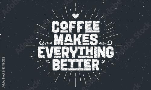 Cuadros en Lienzo Coffee