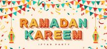 Ramadan Kareem Concept Banner ...