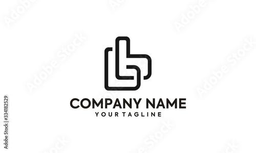 Letter BB Logo Design Canvas Print