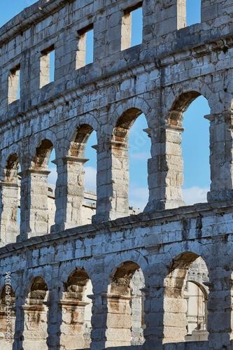 Photo Pula Arena, ancient Roman amphithetre