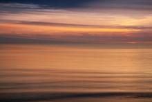 Beautiful Shot Of Scenery Of Sunset In Chesapeake Bay In Virginia