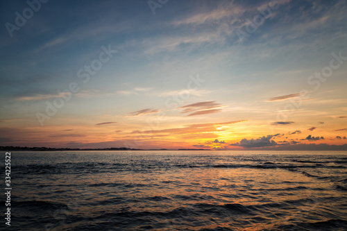 Fotografie, Tablou A Beautiful Sunset in Gloucester Massachusetts