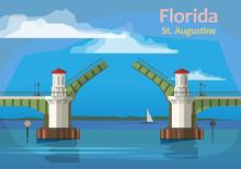 The Bridge Of Lions, Florida, ...