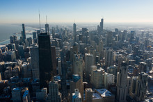 Bird's-eye View Of Chicago Dow...