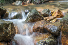 Water Stream Close Up