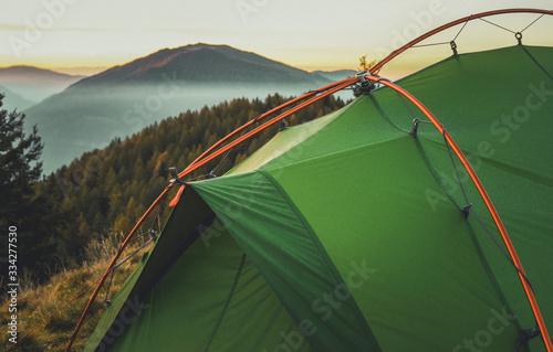 Fotografie, Obraz tent in the mountain